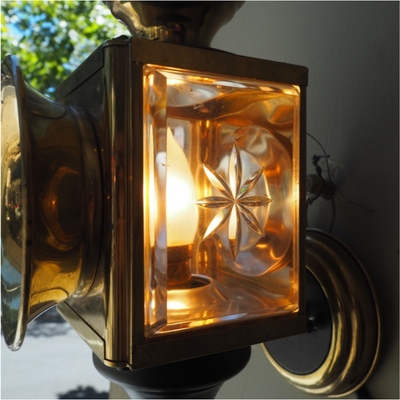19th Century Carriage Lights