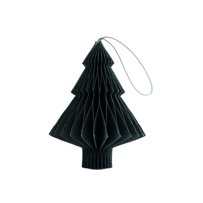 Forest Green Paper Ornaments
