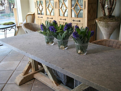 Natural Finish Bluestone Tables