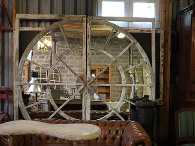 French Timber Skylight Mirror