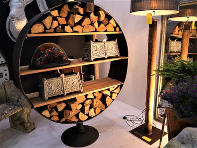 French Firewood Stand