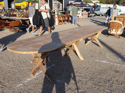 French bois style table
