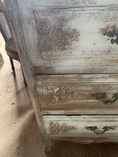 FRENCH 19TH CENTURY COUNTRY COMMODE