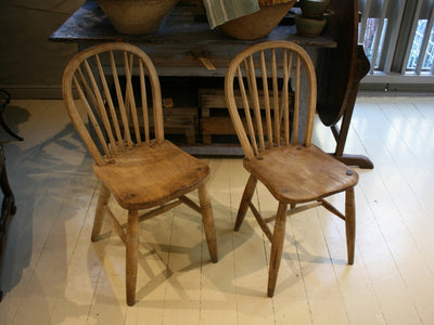 French Oak Chairs