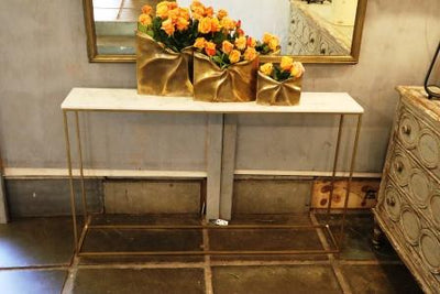 AMELIE MARBLE CONSOLE