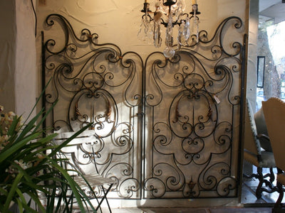 French Forged Gates