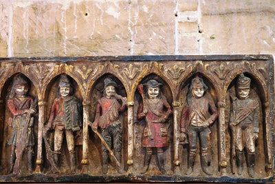 18TH CENTURY Spanish Monastery Carved Wall Relief