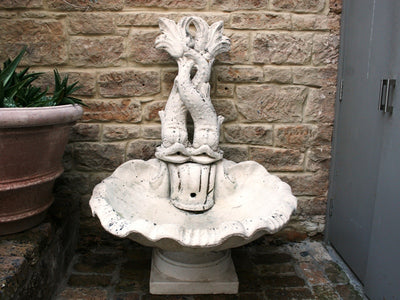 Baroque Style Fish Fountain