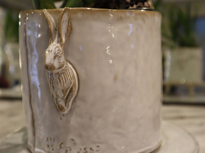 LAPIN MINI FOOTED PEDESTAL URN