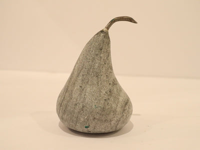 Hand carved marble pears