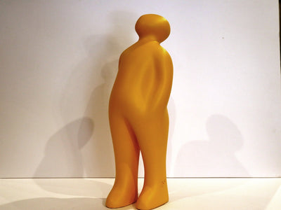 'The Visitor' (Ceramic) by Guido Deleu