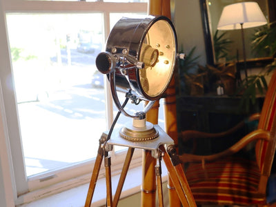 NAUTICAL SURVEYORS FLOOR LAMP