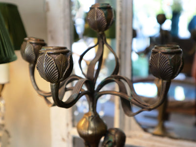 Pair of Art Nouveau Candelabras SOLD