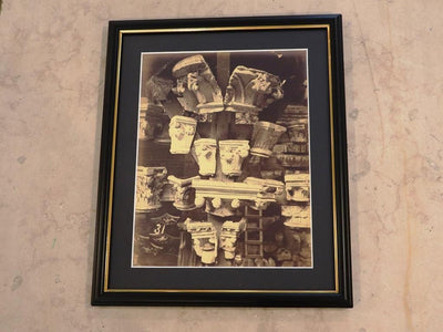 Collection of framed Silver Nitrate photographs by Bedford Lemere