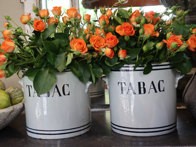French Tabac Vessels