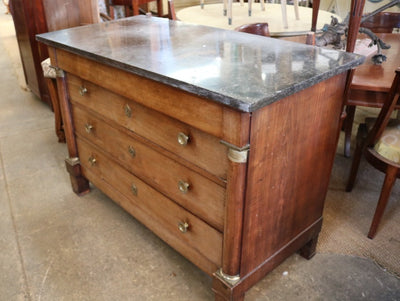 French Walnut Empire Commode