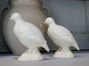 Pair of French Quail by maker Gien