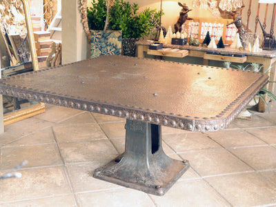 1900 Industrial French Table SOLD