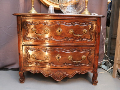 19th Century Walnut Commode