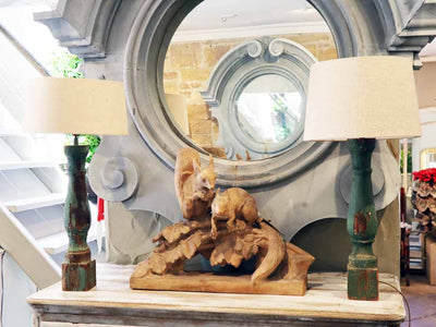 Spanish Timber Lamps