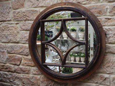 Round French Mirror