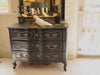 LOUIS XIV Black Commode