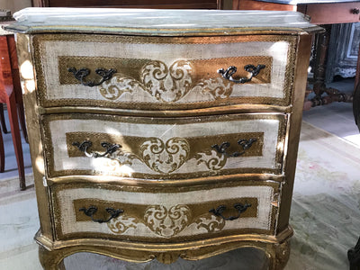 French Timber Console