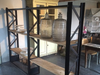 French Industrial Set of Shelves