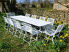 Large Garden table for Ten