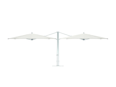 Dual Cantilever Umbrella by Tuuci