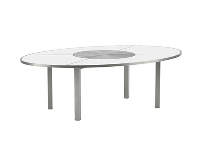 O-zon Oval Dining Tables by Royal Botania