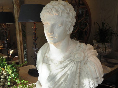 Plaster Bust from Tournai