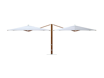 Plantation Dual Cantilever Umbrella by Tuuci