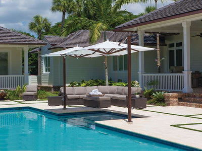 Plantation Max Cantilever Umbrella by Tuuci