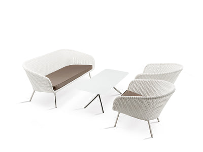 Shell Sofa and Low Easy Chair