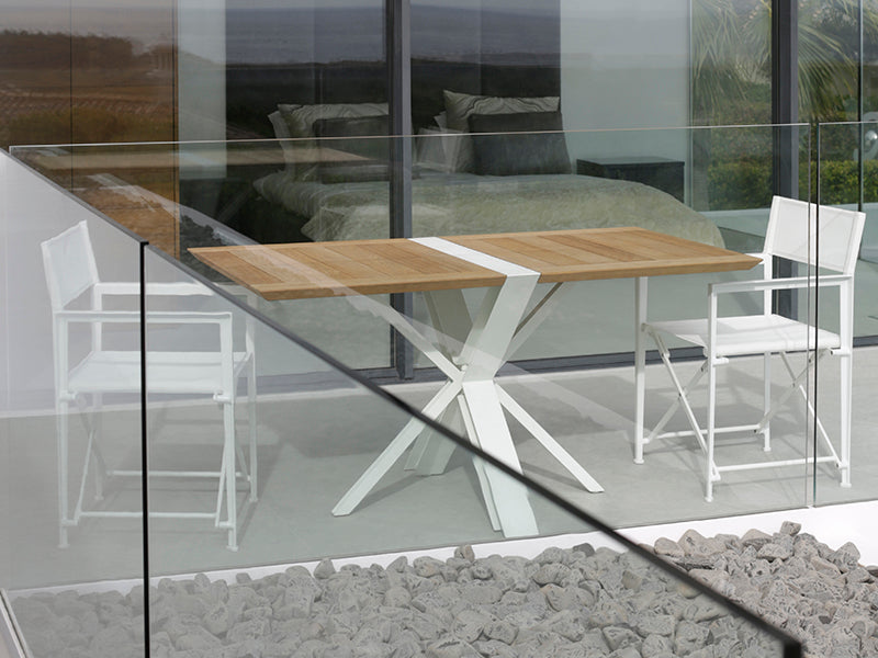 Traverse Folding Dining Tables By Royal Botania Parterre