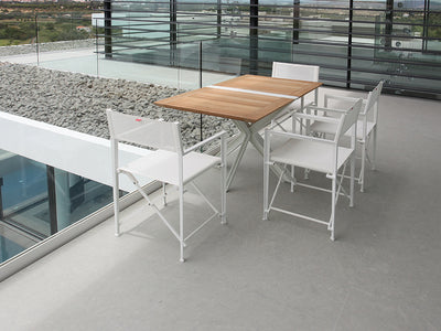 Traverse Folding Dining Tables by Royal Botania