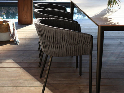 Twist dining chair by Royal Bontania