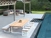 Vigor Outdoor Dining Table by Royal Botania