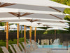 Vineyard Cantilever Umbrella by Tuuci