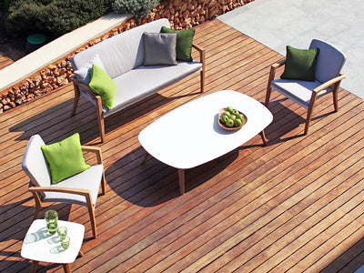 Zidiz Outdoor Lounge by Royal Botania