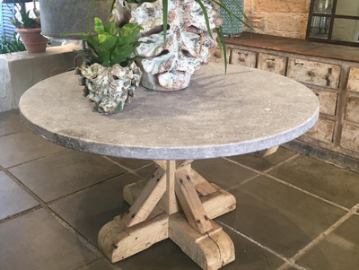 Round Bluestone Tables