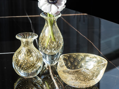 balloton mini vase by mario seguso (ca d'oro glass)