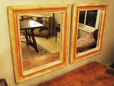 French Timber Mirrors