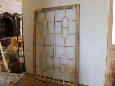 French Mirrored Panel