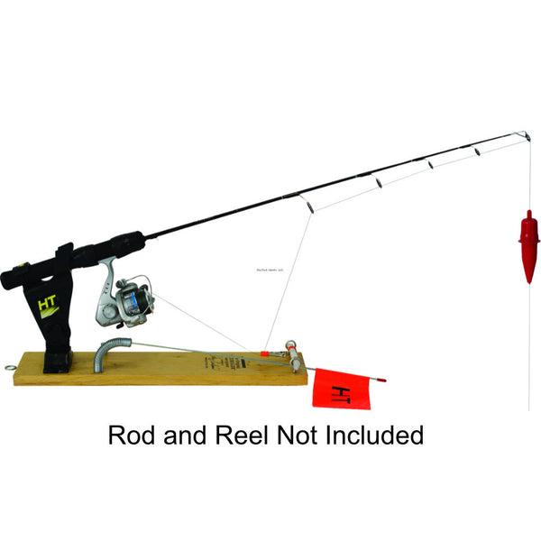 "HT ""Original"" Ice Rigger - Rod Holder with Flag Signal"