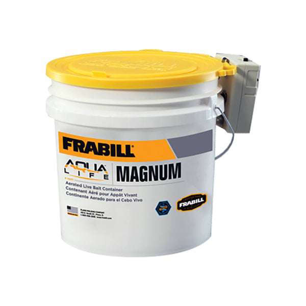 Frabill Magnum Bait Bucket with Aerator