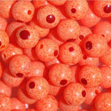 TroutBeads Blood Dot Eggs - Fluorescent Orange