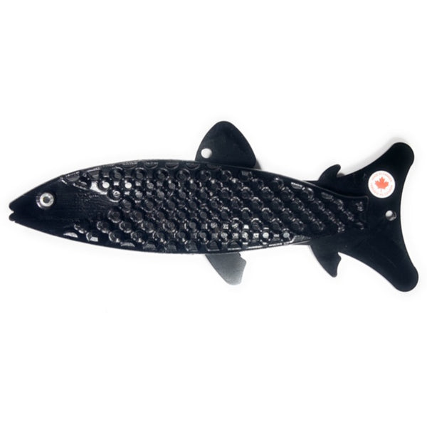 Black POW-R-BAIT Downrigger Weight Cannonball Fish