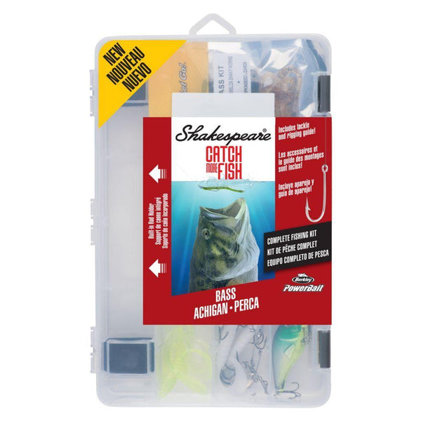 Shakespeare Catch More Fish Bass Kit - Natural Sports - The Fishing Store